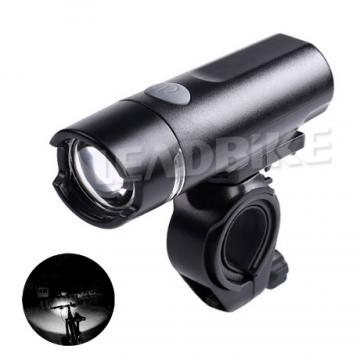 Super Long Working Hours LED Bicycle Headlight High Bright Waterproof Front Bike Light Safety Night Riding Accessories