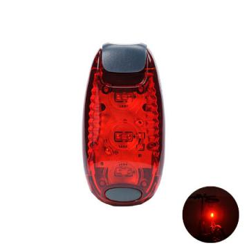 Leadbike 3 LED Bicycle Cycling Rear Tail Helmet Flash Light ABS 2 Modes Waterproof Bike Safety Warning Lamp Freeshipping