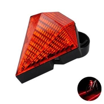 Leadbike AAA Battery Or USB Rechargeable LED Bicycle Laser Rear Light Waterproof 3 Modes Bike Safety Warning Taillight
