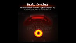 LD43 Brake sensing rear light